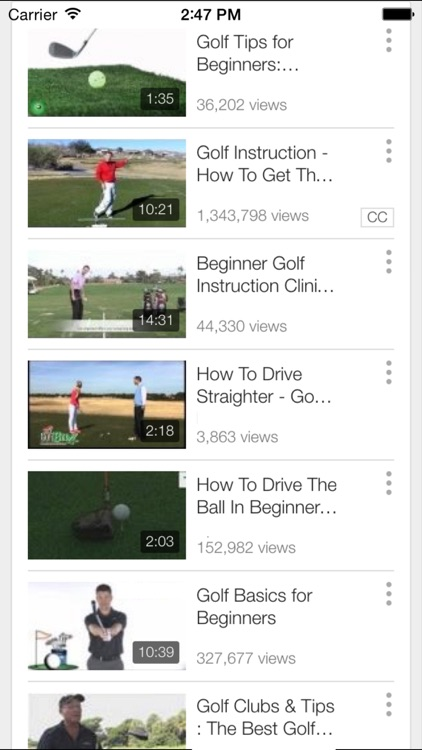 Golf Lessons and Instruction - Improve Your Golf Today screenshot-4