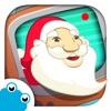 圣诞老人之家 , 在圣诞老人家找到他,并帮他准备圣诞节。