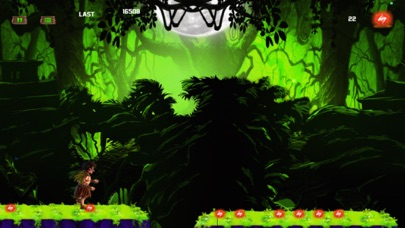 Jungle Kid Adventure Run - Dark Fantasy screenshot one