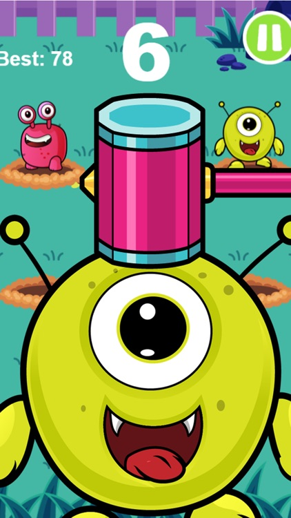 Whack An Alien Mole Invader - Smash The Cute Miner Invaders From Mars! screenshot-3