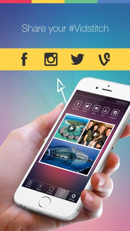 Vidstitch Pro for Instagram screenshot-3