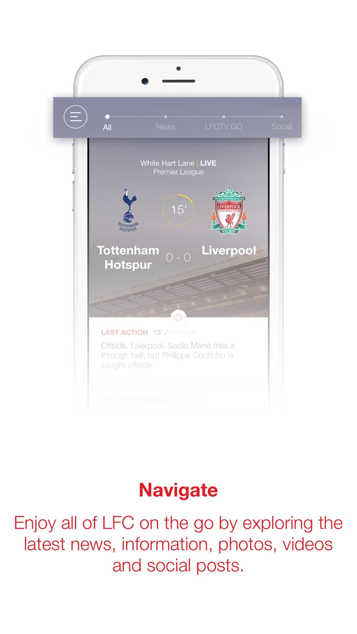 LFC Official App Screenshot