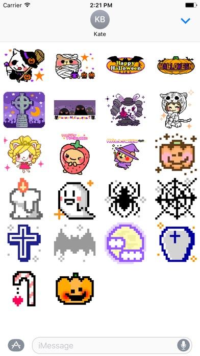 Halloween Night Stickerのスクリーンショット2