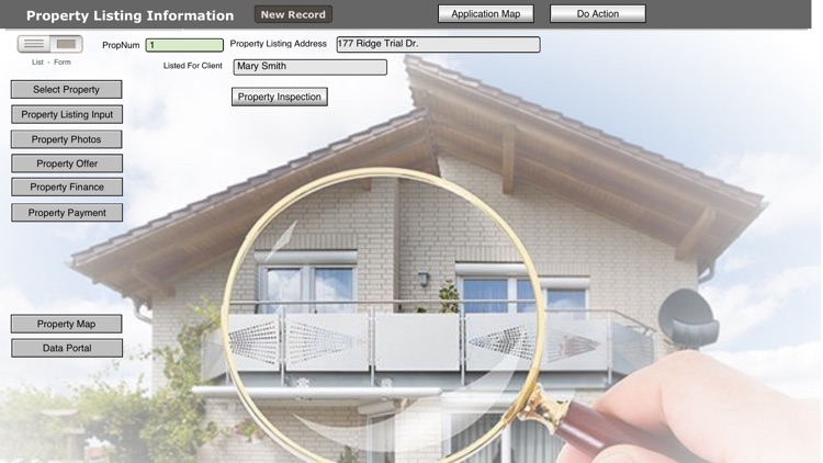 Realty CRM Inspection DB screenshot-3