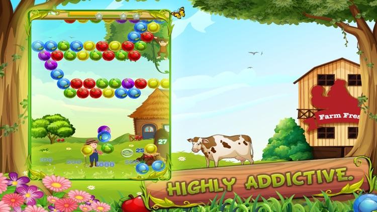 Fruit Charm - New Free  Bubble Shooter Match 3 screenshot-3