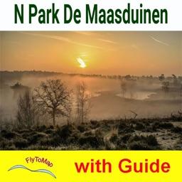 Maasduinen National Park - GPS Map Navigator