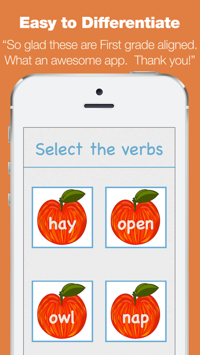 First Grade Learning Games - Fall Review App screenshot four