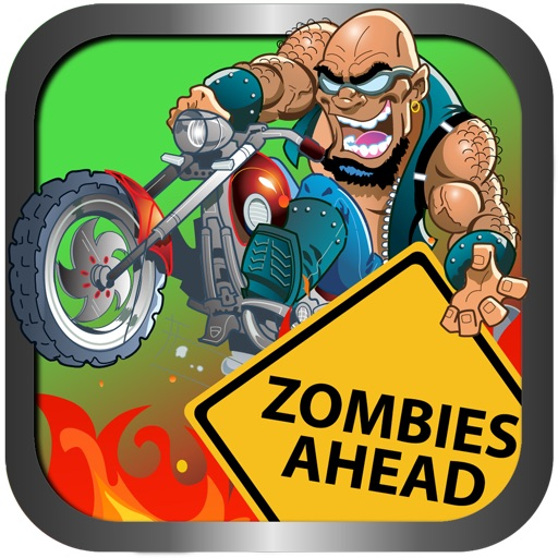 Brain Zombie Bike Race - Ride or Die