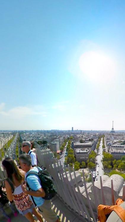 VR Paris Arc de Triomphe Virtual Reality 360