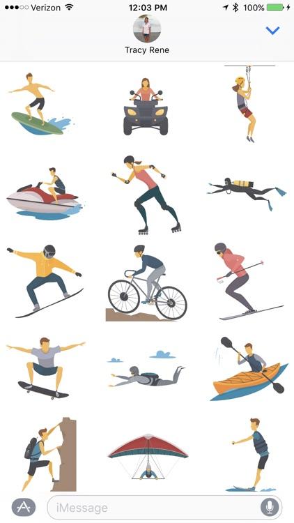 Extreme Sport - Sticker Pack