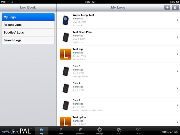 divePAL screenshot-3