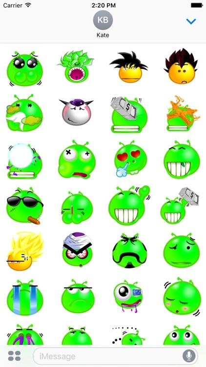 Namek Stickers