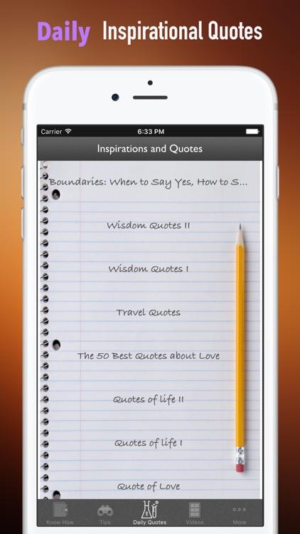 Quick Wisdom from Boundaries:Practical Guide Cards screenshot-4