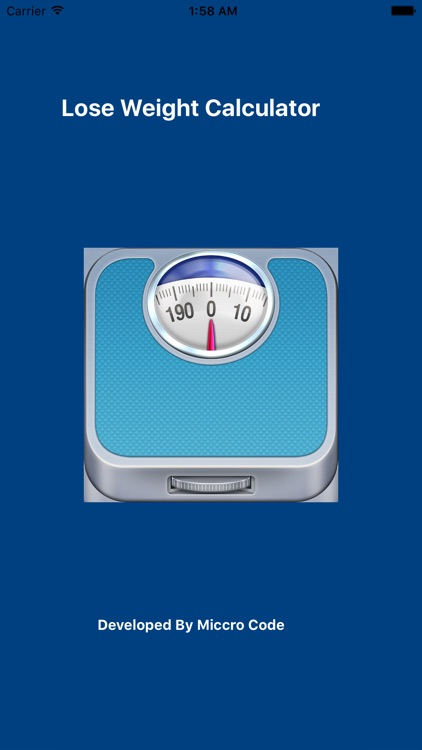 Lose Weight Calculator