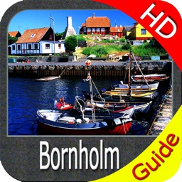 Bornholm HD GPS Nautical chart