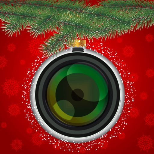 Merry Christmas Collage & Photo Editor + Stickers iOS App