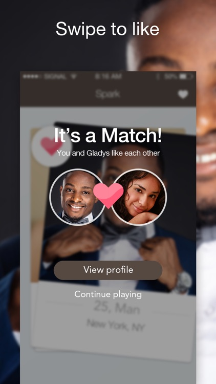 Afro dating sovellus