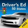 Drivers Ed Free: DMV Permit Practice Driving Test