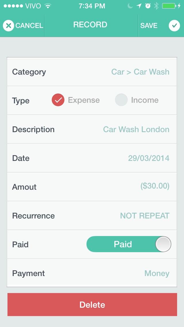 MyFin - Personal Finance Screenshots