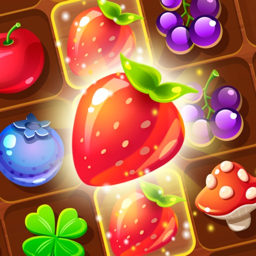 Forest Fruit Crush Link - Connect  Match 3 game
