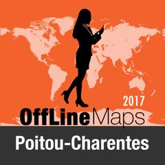 Poitou Charentes Déconnecté carte et guide de