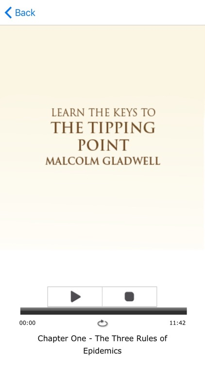 The Tipping Point by Malcolm Gladwell Meditations screenshot-3