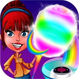 Rainbow Cotton Candy Maker 2 Carnival Fair Food