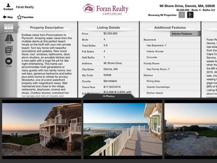 Cape Cod Properties for iPad screenshot-3