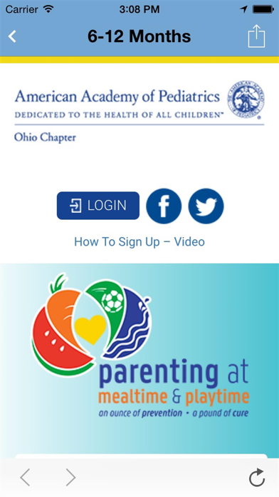 messages.download Parenting at Meal & Playtime software