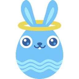 Cute Bunny Egg Sticker Pack