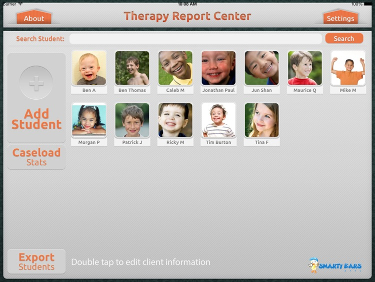 Therapy Report Center