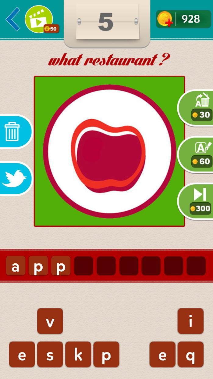 What Restaurant ? Screenshot
