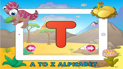 Learn ABC Dinosaur Shadow Puzzle - Flash Card Game screenshot two