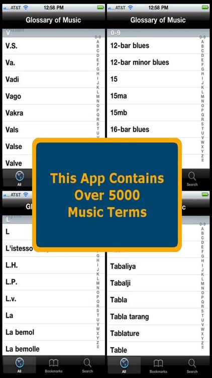 Glossary of Music screenshot-4