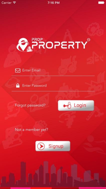 Prop Property. Vendor App