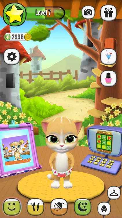 My Talking Virtual Cat Emma screenshot-4