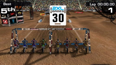2XL Supercross - by 2XL Games, Inc  - Racing Games Category - 6,101 Reviews  - AppGrooves Best Apps
