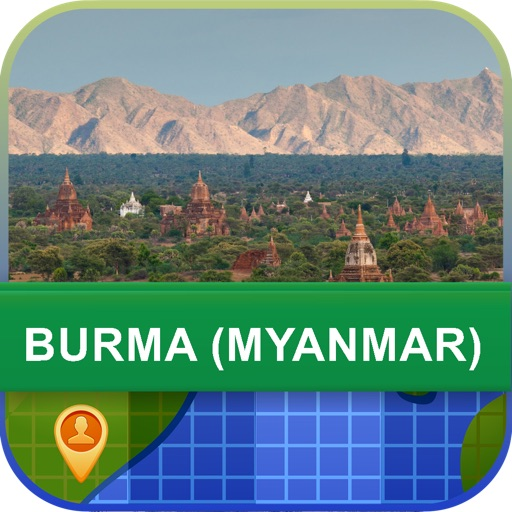 Offline Burma (Myanmar) Map - World Offline Maps icon