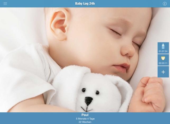 Baby Log 24h Screenshot