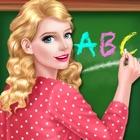 Fun School Teacher Beauty Spa - Dress up Girl Game icon