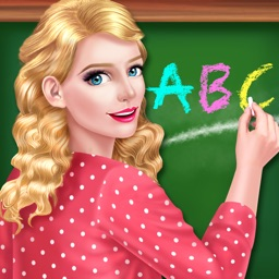 Fun School Teacher Beauty Spa - Dress up Girl Game