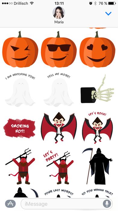 Grusel - Halloween Stickers screenshot four