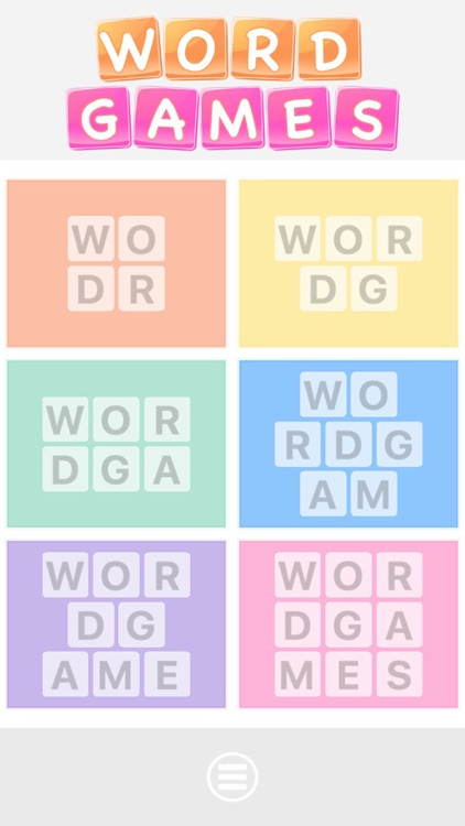 Word games puzzles - Put the letters in order to form the correct word