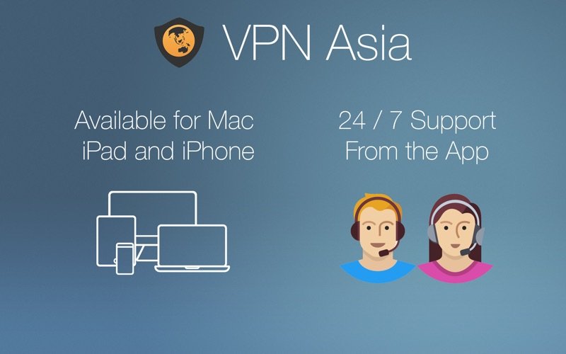 VPN Asia Screenshot