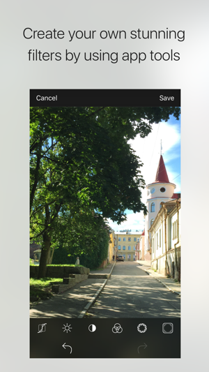 Charm - photo filters creator Screenshot