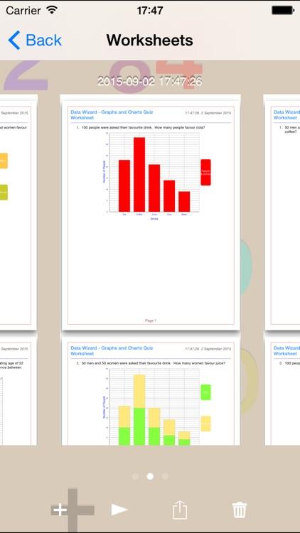 Data Wizard - Graph and Charts screenshot-3