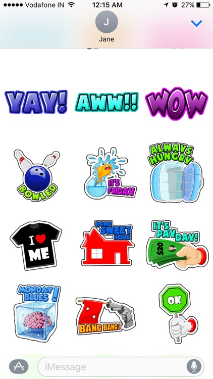 Toon Stickers screenshot-4
