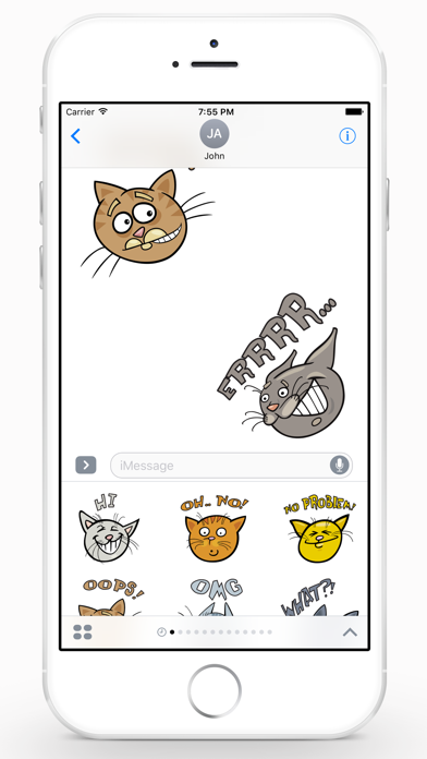 CatMoji Sticker Pack screenshot two