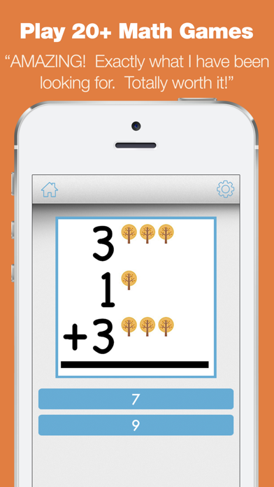First Grade Learning Games - Fall Review App screenshot three