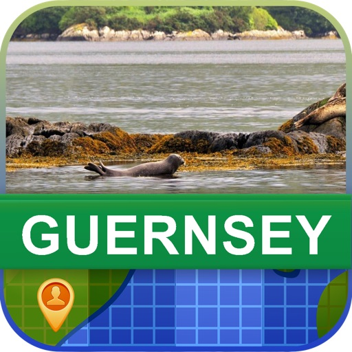 Offline Guernsey Map - World Offline Maps